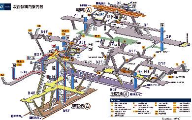 Shibuya-station