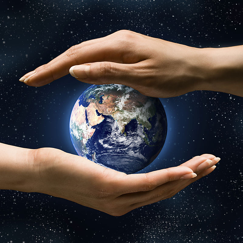 Hands earth zeitgeist
